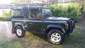 300 Tdi Defender, Masia tinted glass rear panels, new clutch, head gasket, turbo, timing belt.