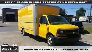 2008 Chevrolet Express G3500 16Ft V8 Gas + Ramp