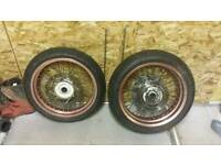 Husqvarna 125 sm wheels