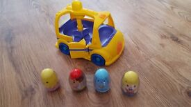 Baby Car with Eggs .