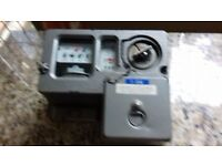 Electric coins meter