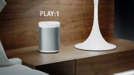 sonos play 1 comes with a cable and original box