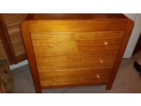 Mamas and papas chest of drawers/changing table