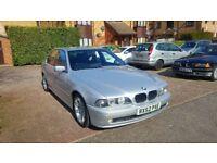 BMW E39 2.2 petrol automatic M Sport 2002