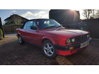 BMW E30 BREAKING CONVERTIBLE