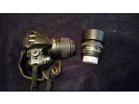 Nikon D5100 with 2lenses