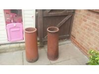 2 chimney pots good condition no breaks or splits £30 ono