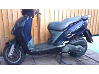 SYM EURO 125 AUTO SCOOTER FULL MOT
