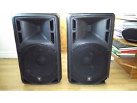 """15"""" active PA speakers"""