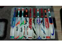 BRAND NEW CRICKET BATS, ALL BRANDS AVAILABLE, 46MM THICK EDGE, ENGLISH WILLOW,NEW STOCK AVILABLE