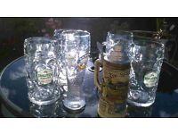 Octoberfest glasses - German Beer steins