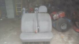 Van rear seats