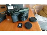 Fujifilm X-E1 with 27mm Pancake Lens
