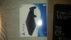 sony play station4 for sale brand new slimline 500gb