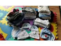 Big bundle of baby clothes (0-12months)