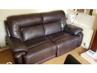 2 Seater Large Couch / Sofa Leather