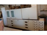 KITCHEN UNITS AND TWO APPLIANCES