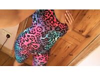 Selling this Multicolour leopard unitard £8.00