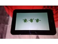 DISGO 7'' ANDROID TABLET FAULTY SPARES OR REPAIR STUCK ON BOOT SCREEN -- BROKEN TABLET