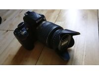 Nikon D3100 DSLR with extras
