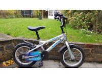 "Dawes Blowfish 14"" lightweight silver kids childs bike"