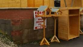Heavy duty bird table