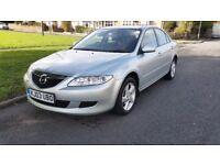 Mazda 6 2.0 manual silver 2003