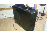 Gaming PC with 2 monitors (okay condition) - 3.4ghz