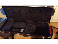 Case for the electric guitars. Black. New.Internal parameter 104=34=9 см.