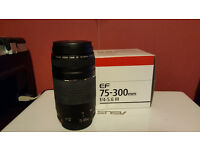 Canon Lens EF 75-300mm