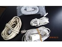 Telephone Extension Cables for home installations.