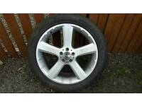 "Mercedes-Benz 20"" 5-Spoke Silver Alloy Wheel *Genuine*"