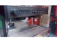 COFFEE MACHINE 2 GROUP TALL HARDLY USED