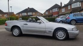 1997 Mercedes Sl320 R129 Facelift in Silver with Grey Leather