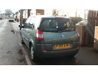 Renault scenic AUTOMATIC full M.O.T