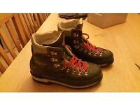 Raichle winter mountaineering boots.