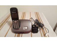 Panasonic KX-TG6511E Single Digital Cordless Phone Set Silver