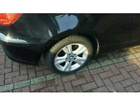 "Bmw 1 series sport Alloys set of 4 with tyres 17"" mint condition"