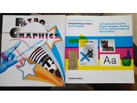 Two Graphic Design books