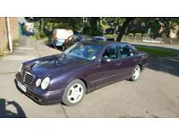 2001 MERCEDES BENZ E220 DIESEL AUTO LOW MILEAGE ONE PREVIOUS OWNER WITH FULL HISTORY FOR SALE