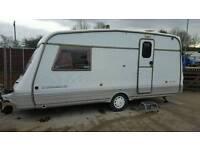Swift corniche 2 berth lightweight caravan 1997