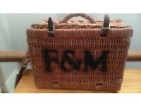 Fortnum & Mason wicker basket