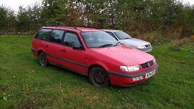 VW Passat Estate Diesel. MOT Failure, good runner.