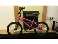 Kids bike Dark Pink and Black BMX