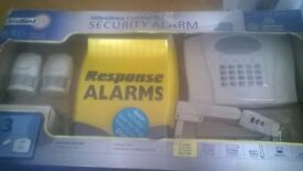brand new never used wirefree security alarm remote control
