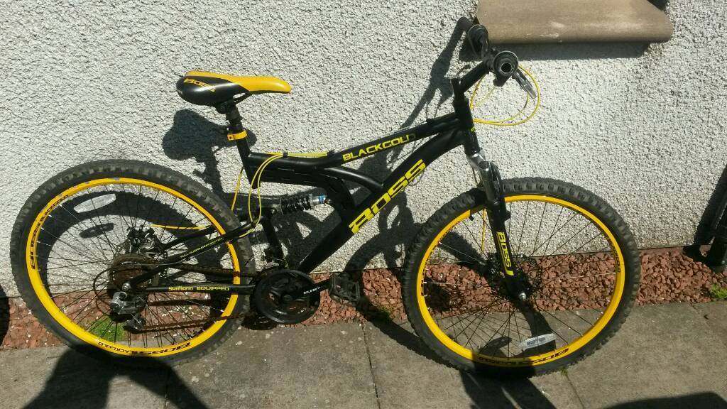 Cheap bikein Livingston, West LothianGumtree - Here I have my boss blackgold for sale never let me down couple scrapes here and there bikes in realy good condition