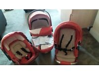 trio baby buggy