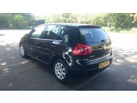 Vw golf mk5 2004 with low mileage