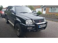 selling L200 mitsubishi warrior 2003 £2650.00