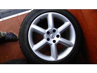 """Alloy Wheels 18""""/235/50 winter tire"""
